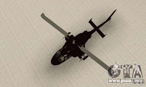 Airwolf para la visión correcta GTA San Andreas