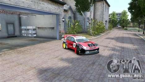 Subaru Impreza WRX STI RALLYCROSS Eibach Springs para GTA 4 visión correcta