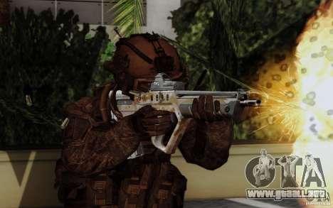 Tavor Tar-21 Steeldigital para GTA San Andreas segunda pantalla