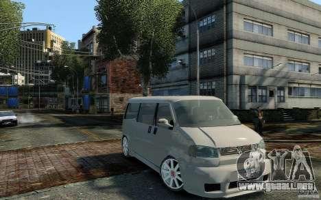 Volkswagen Transporter T4 para GTA 4 visión correcta