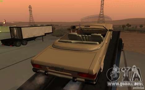 New Feltzer para GTA San Andreas vista posterior izquierda
