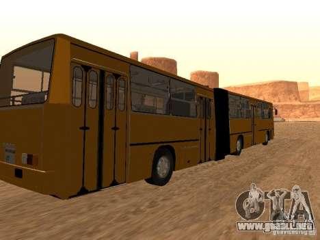 Remolque Ikarusu 280.33 para GTA San Andreas