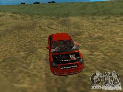 Toyota Avensis TRD Tuning para la vista superior GTA San Andreas