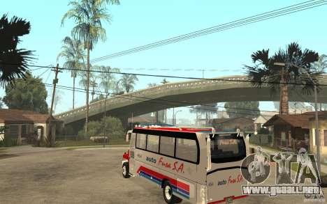 Kodiak B70 - Autofusa Colombia para GTA San Andreas vista posterior izquierda