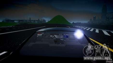 Saleen S281 Extreme Unmarked Police Car - v1.2 para GTA 4 interior