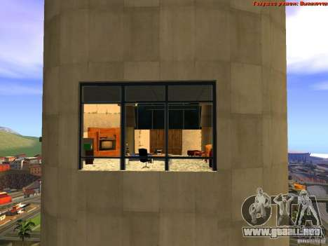 20th floor Mod V2 (Real Office) para GTA San Andreas octavo de pantalla