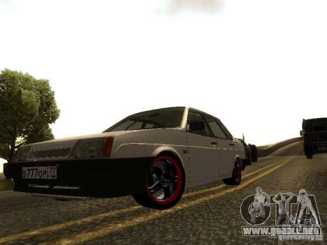 VAZ 21099 v. 2 para GTA San Andreas left