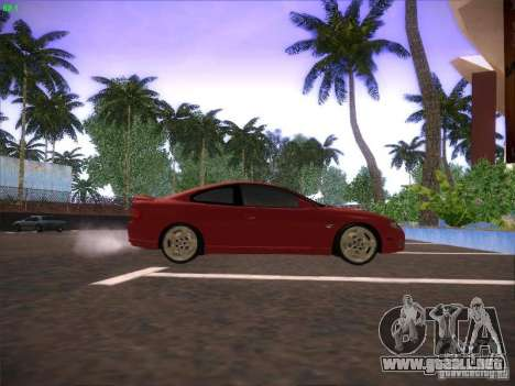 Pontiac FE GTO para GTA San Andreas vista posterior izquierda