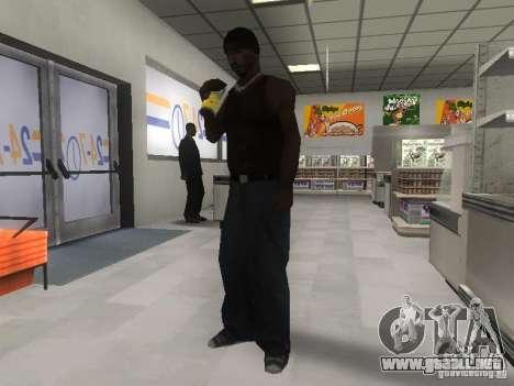 Reality GTA v2.0 para GTA San Andreas sucesivamente de pantalla