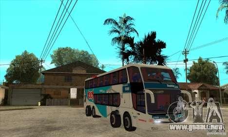 Marcopolo Paradiso 1800 G6 8x2 para GTA San Andreas vista hacia atrás