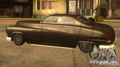 Hermes HD para GTA San Andreas vista posterior izquierda