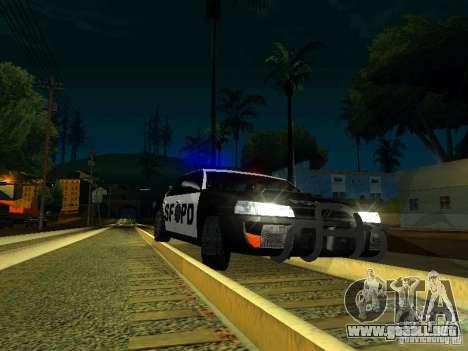 San-Fierro Sultan Copcar para visión interna GTA San Andreas