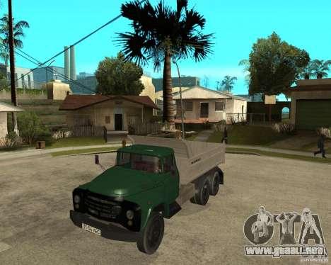 Camión ZIL 133 para GTA San Andreas
