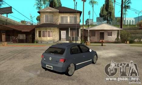 Volkswagen Gol G5 para la visión correcta GTA San Andreas