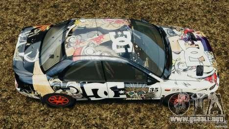 Subaru Impreza WRX STI 1995 Rally version para GTA 4 visión correcta