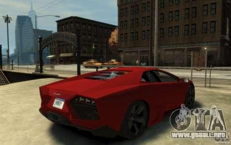 Lamborghini Reventon Coupe para GTA 4 visión correcta