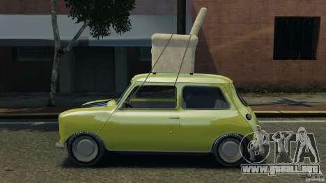 Mini Cooper para GTA 4 left