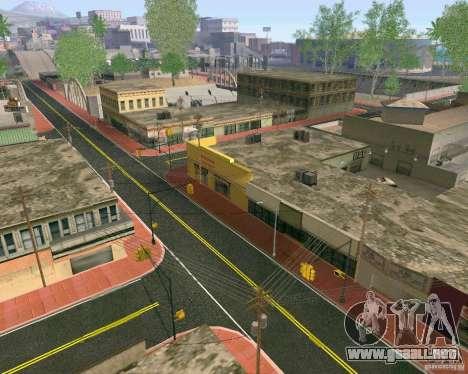 Nuevas texturas de Los Santos para GTA San Andreas sucesivamente de pantalla