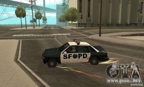 Los clavos en la carretera para GTA San Andreas tercera pantalla