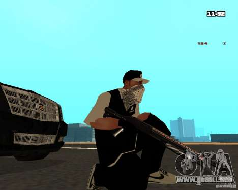 Weapon Pack para GTA San Andreas segunda pantalla