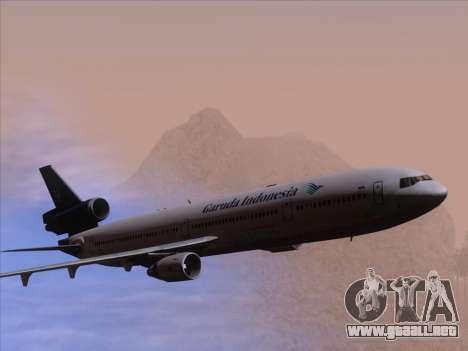McDonnell Douglas MD-11 Garuda Indonesia para el motor de GTA San Andreas
