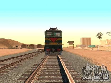 233 Cs7 para GTA San Andreas vista hacia atrás