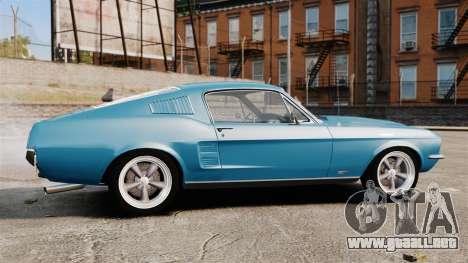 Ford Mustang Customs 1967 para GTA 4 left