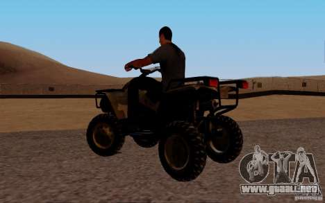 Quadbike from BF 3 para GTA San Andreas left