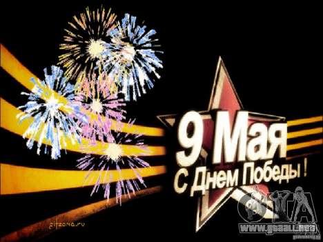 Pantalla de arranque de 9 de mayo para GTA Vice City