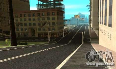 Una nueva superficie de la carretera (superficie para GTA San Andreas tercera pantalla