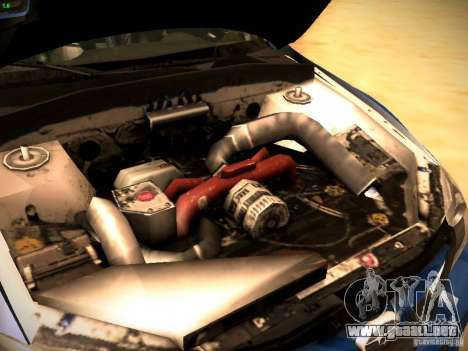 Subaru impreza Tarmac Rally para visión interna GTA San Andreas