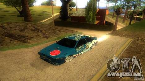 Toyota AE86 Coupe - Final para visión interna GTA San Andreas