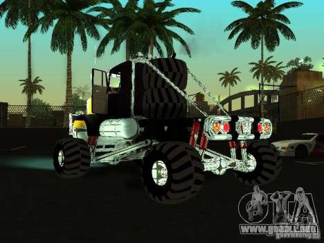 Kenworth W900 Monster para GTA San Andreas left
