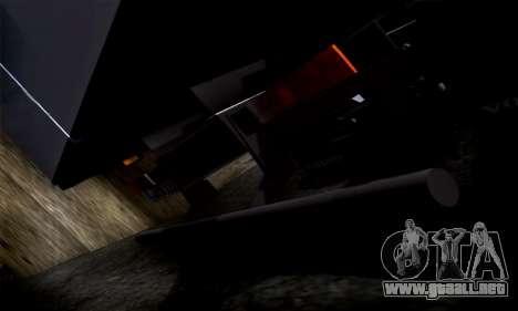 Volvo F10 para visión interna GTA San Andreas