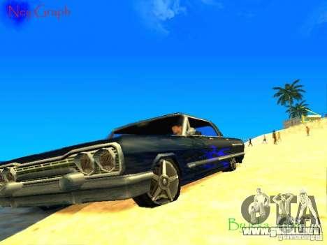 El nuevo gráfico de jeka_raper para GTA San Andreas sucesivamente de pantalla