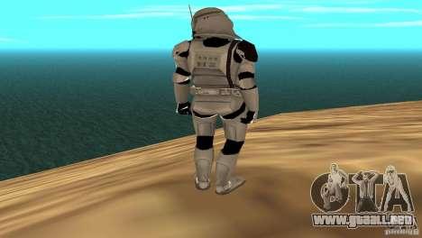 Commander Bacara para GTA San Andreas sucesivamente de pantalla