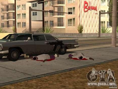 Armas nacionales Pak para GTA San Andreas séptima pantalla