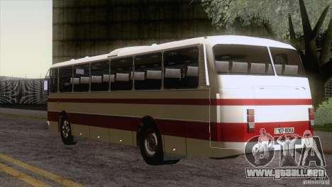 LAZ 699R 93-98 piel 1 para la visión correcta GTA San Andreas
