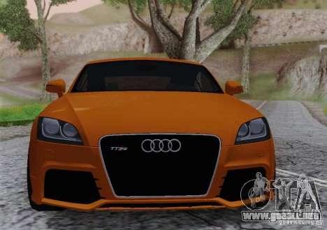 Audi TT-RS Coupe para la visión correcta GTA San Andreas