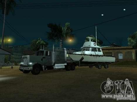 Remolque de barcos para GTA San Andreas left