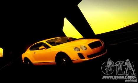 Bentley Continental Supersports para GTA San Andreas left