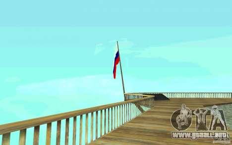 La bandera de Rusia en Chiliad para GTA San Andreas