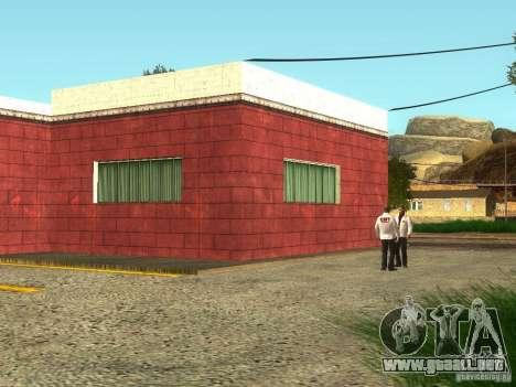 Renovación del hospital en Fort Carson para GTA San Andreas segunda pantalla