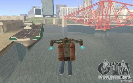Jetpack en el estilo de la URSS para GTA San Andreas tercera pantalla