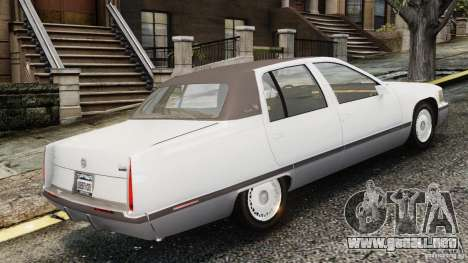 Cadillac Fleetwood 1993 para GTA 4 left