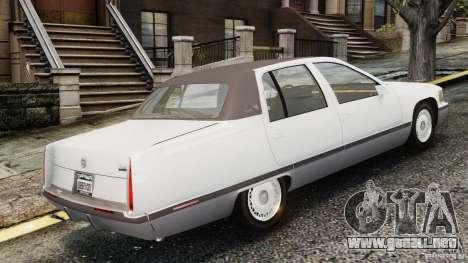 Cadillac Fleetwood 1993 para GTA 4 left