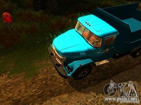 ZIL 131 Cupido para visión interna GTA San Andreas