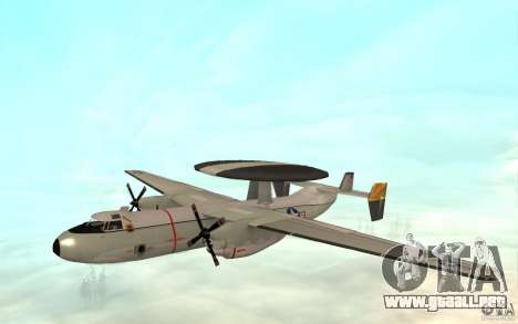 E-C2 Hawkeye para GTA San Andreas left