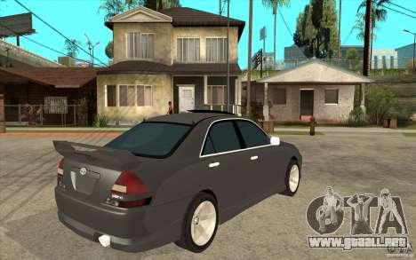 TOYOTA MARK II RY para la visión correcta GTA San Andreas
