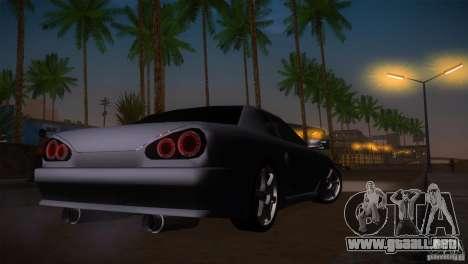Elegy Drift para vista lateral GTA San Andreas